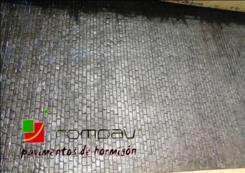 hormigon impreso rampa garaje  Alcala de Henares