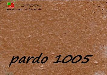 hormigon impreso color pardo 1005 Madrid
