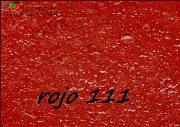 color rojo 111 hormigon impreso guadalajara