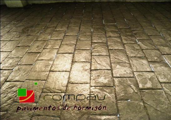 pavimentos de hormigon impreso a buen precio