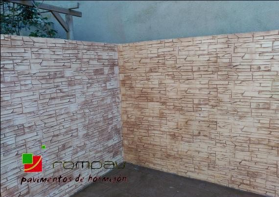 muros de bloques avila