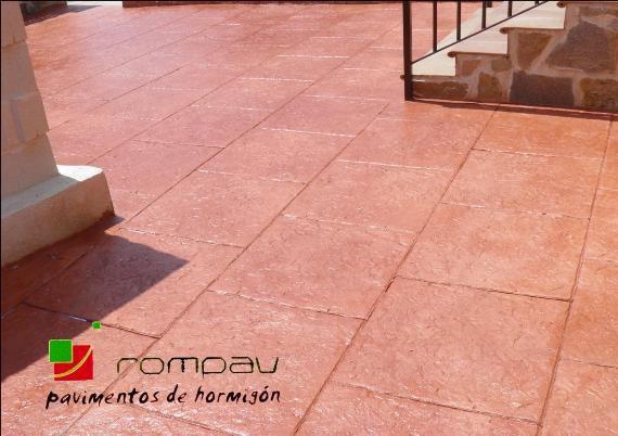 suelos de hormigon impreso madrid desde 14€