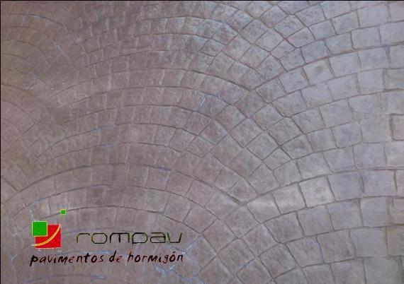 suelos de hormigon impreso rompav madrid