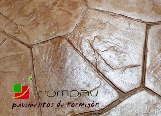 hormigon impreso textura piedra granja