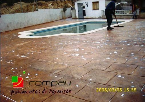 pavimentos para piscinas boadilla del monte
