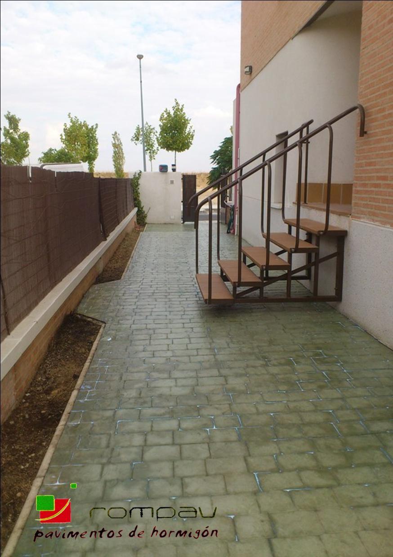 Pavimentos impresos Torrejon de Ardoz