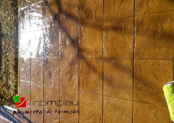 suelos de hormigon impreso valladolid