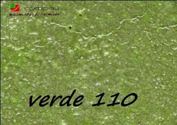 hormigon impreso verde 110  Ávila