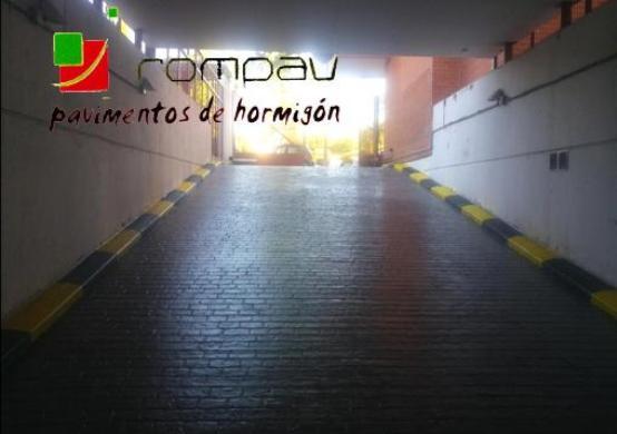 Hormigon impreso Alcala de Henares