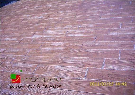 suelos impresos madera Azuqueca de Henares