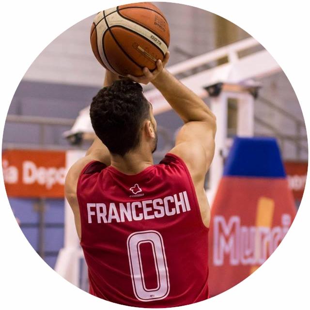 KEVIN FRANCESCHI- Escolta- BOSMAN- #0 Rojo