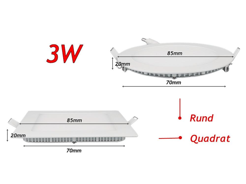 Gut bekannt LED Einbau Panele - LED Strahler Fluter Spot Panel Röhren Hallen UJ62