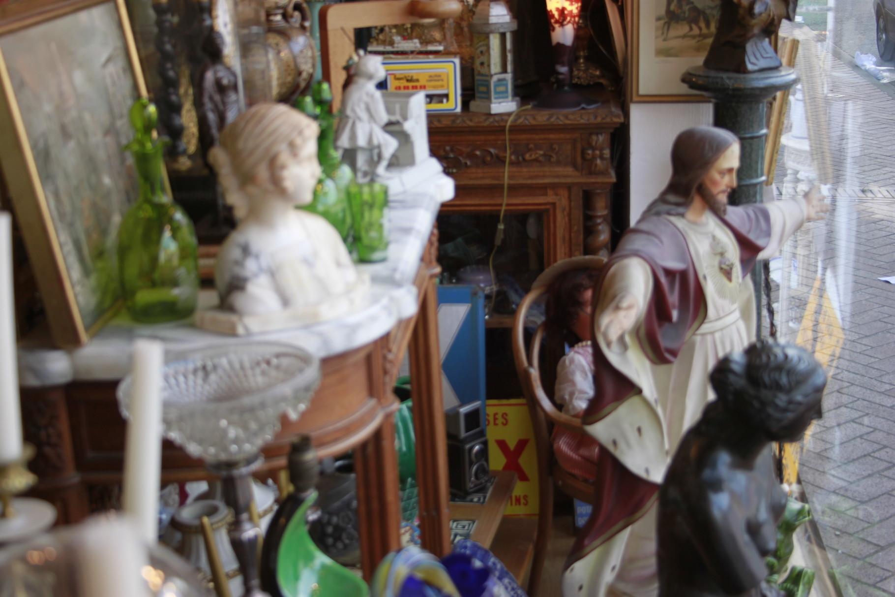 objet religieux eglise platre terre cuite bois sculpte