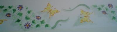 Wandbordüre