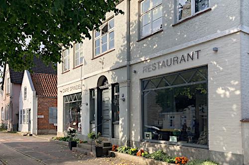 Cafe Spindel Wollspinnerei Blunck Bad Segeberg Stilvolle Lokalität mit besonderem Ambiente