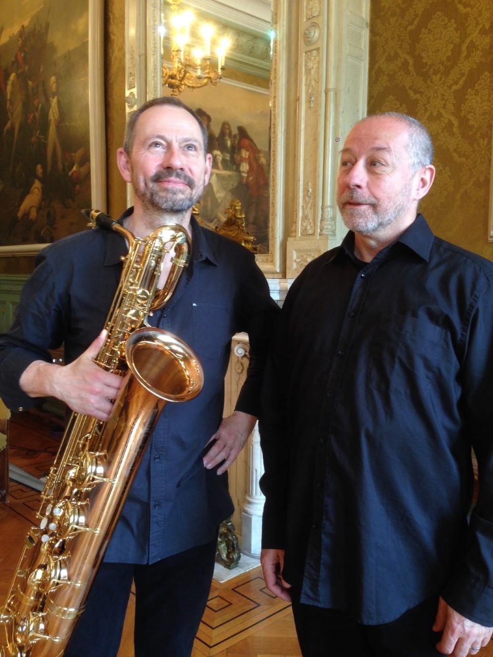 Deux barytons en pays de chanson