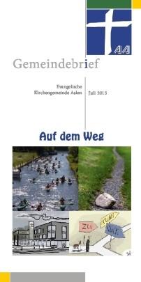Gemeindebrief Aalen 2015-06