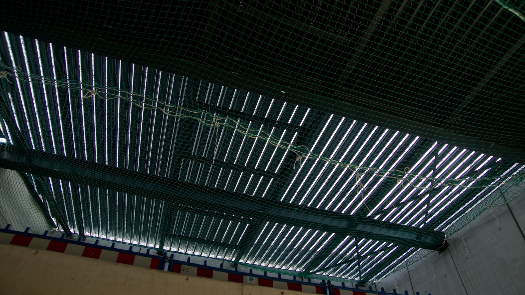 Dach vom Saal