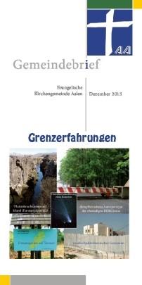 Gemeindebrief Aalen 2015-12