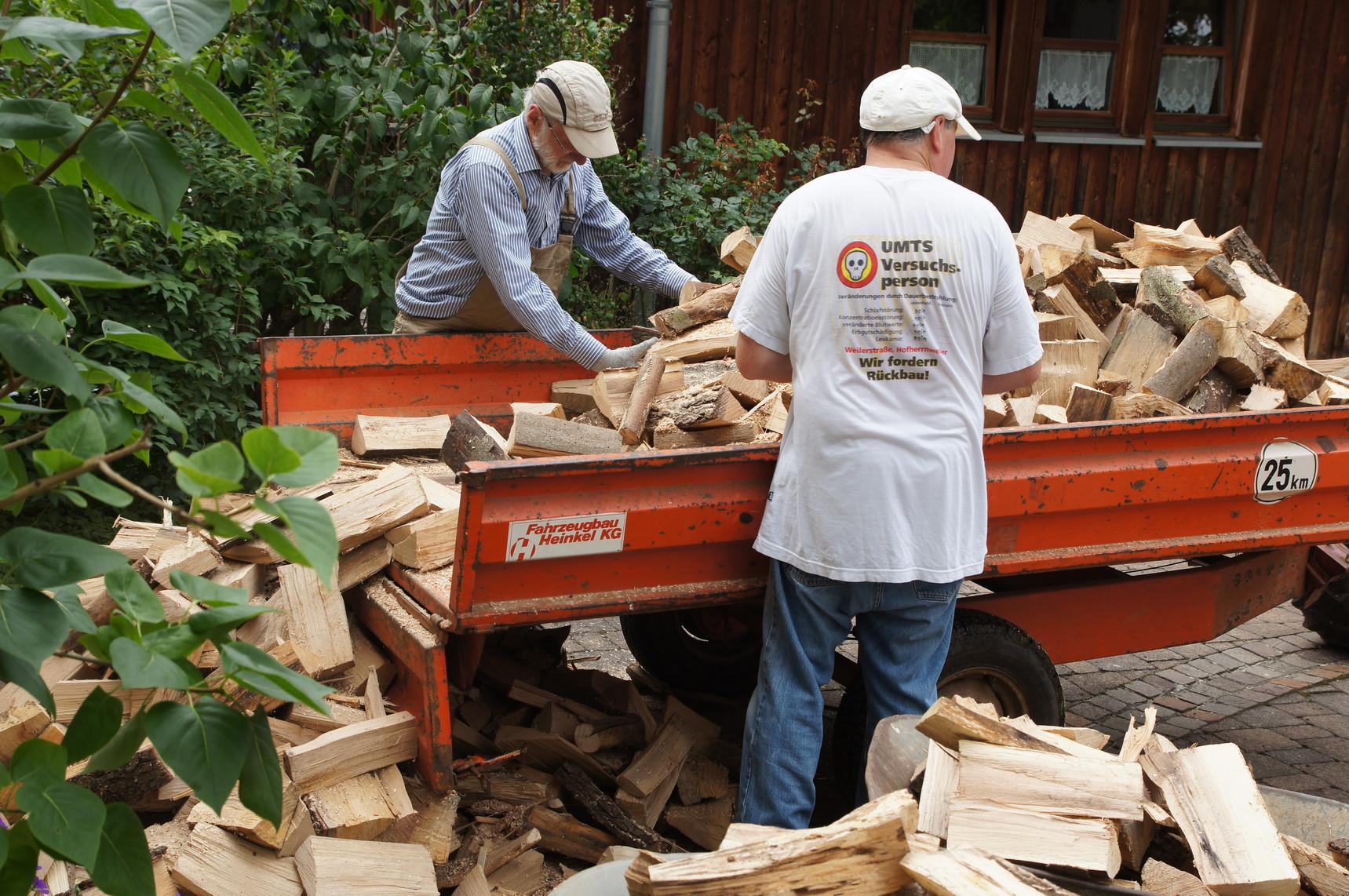 Noch mehr Holz zum Stapeln