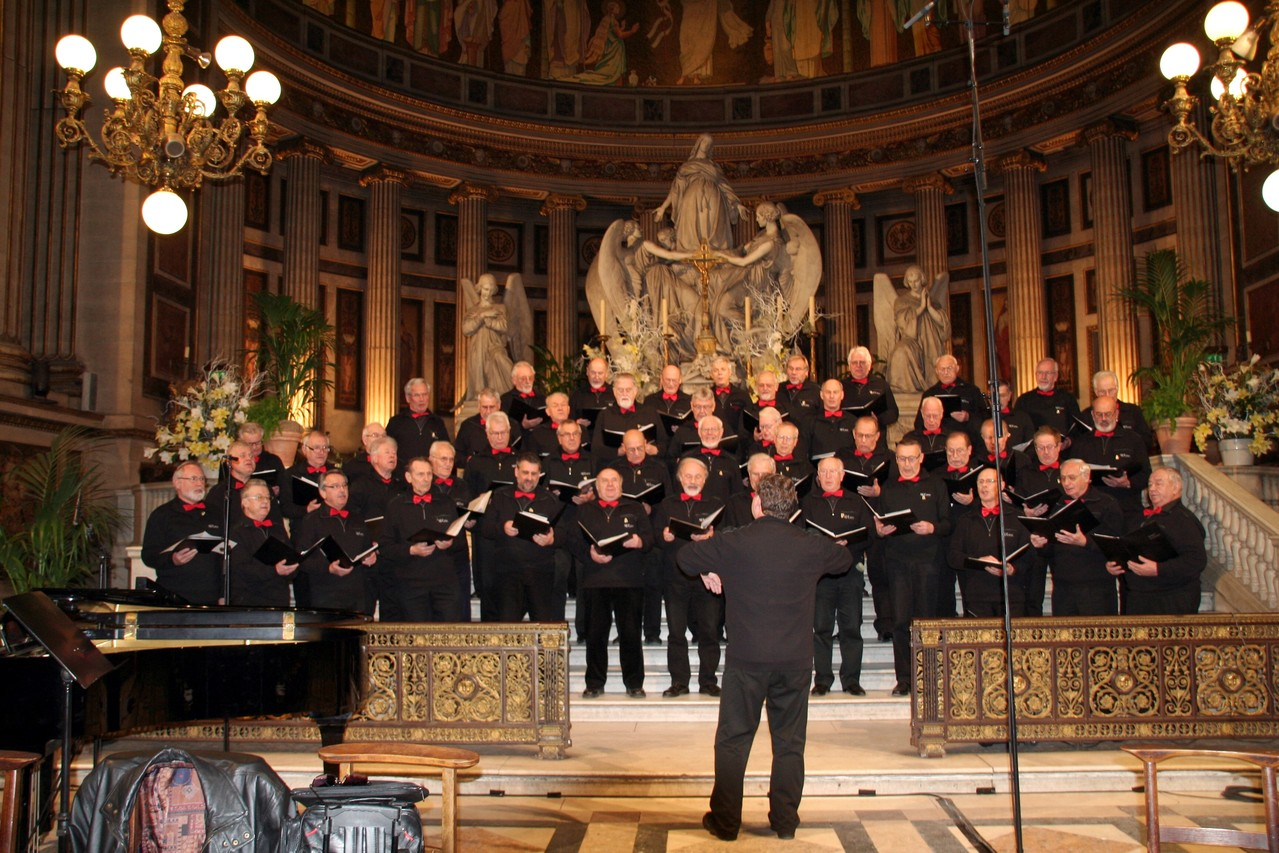 Schlusskonzert Internationales Chorfestival PARIS St. Madeleine
