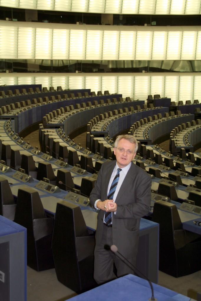 MPC-Chorreise  Europaparlament Straßburg 08.05.2008 mit Vize-Präsident