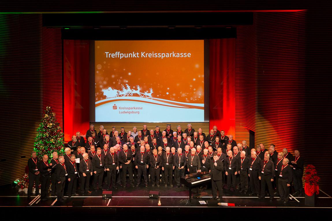 Treffpunkt Kreissparkasse Ludwigsburg 20.12.2013