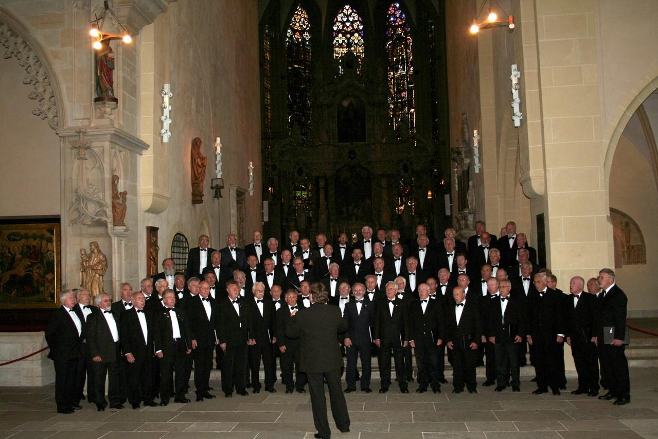"""MPC Chorreise Thüringen -  """"Musikalischer Verspergottesdienst"""" Dom zu Erfurt 24.05.2008 -"""