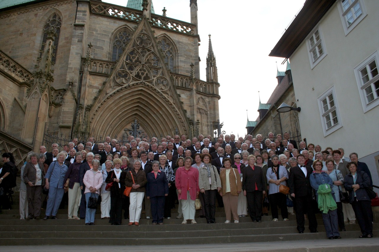 MPC Chorreise Thüringen -  Dom zu Erfurt 24.05.2008 -