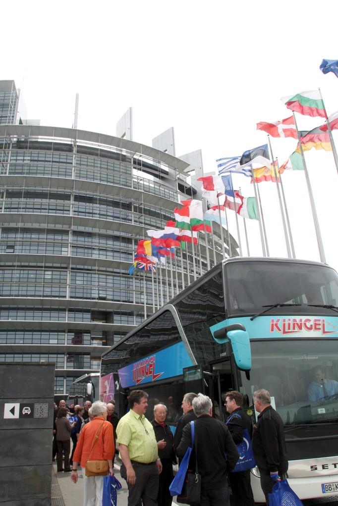 MPC-Chorreise  Europaparlament Straßburg 08.05.2008