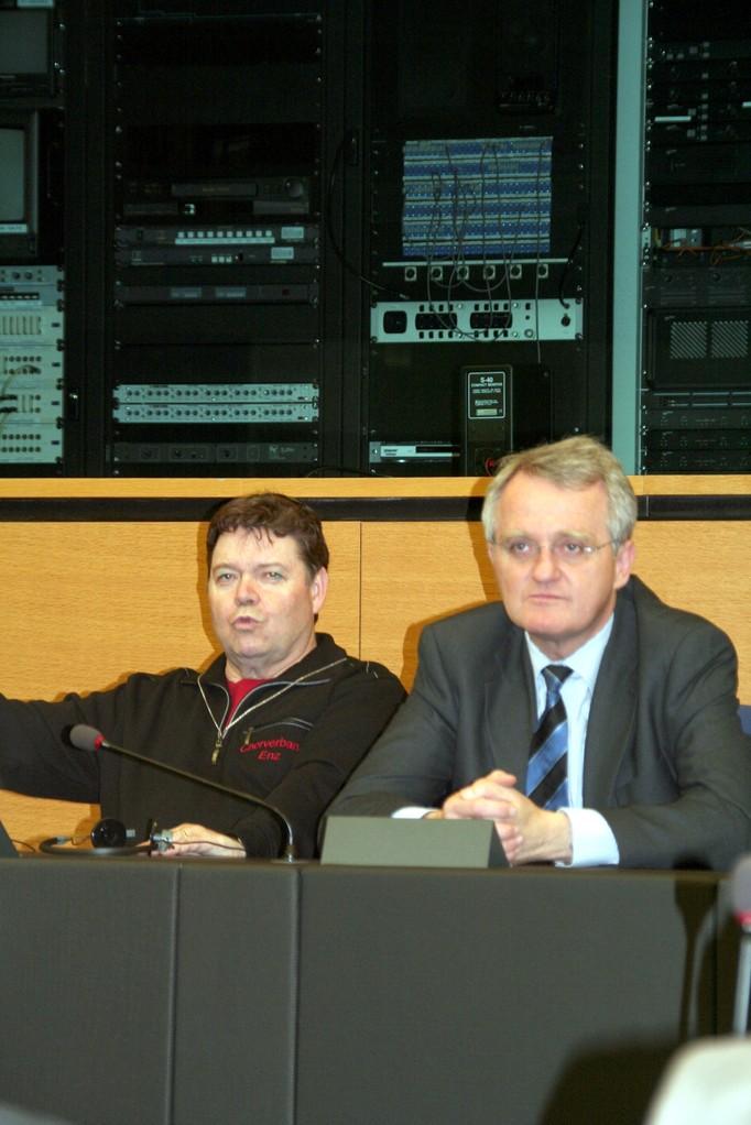 ...mit Vize-Präsident und Gastgeber Rainer Wieland