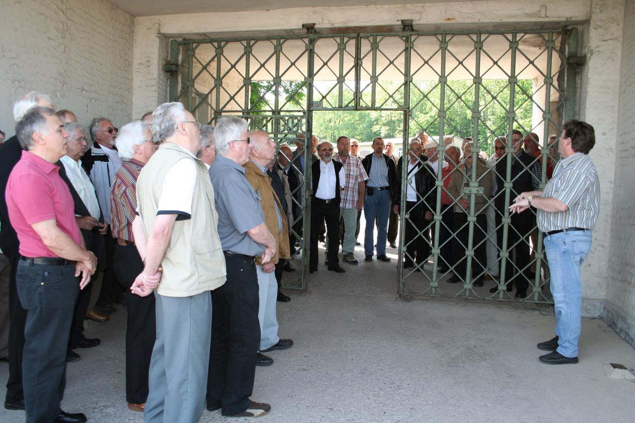 MPC Chorreise Thüringen -  KZ Buchenwald 24.05.2008 -  Frieden sei dieser Welt beschieden -