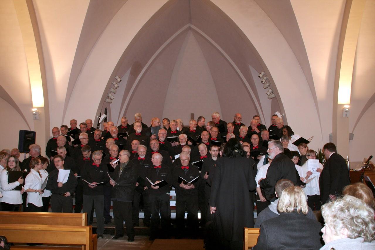 Villepinte (Seine-Saint-Denis) Freundschaftskonzert mit Les Petits Chanteurs de Villepinte