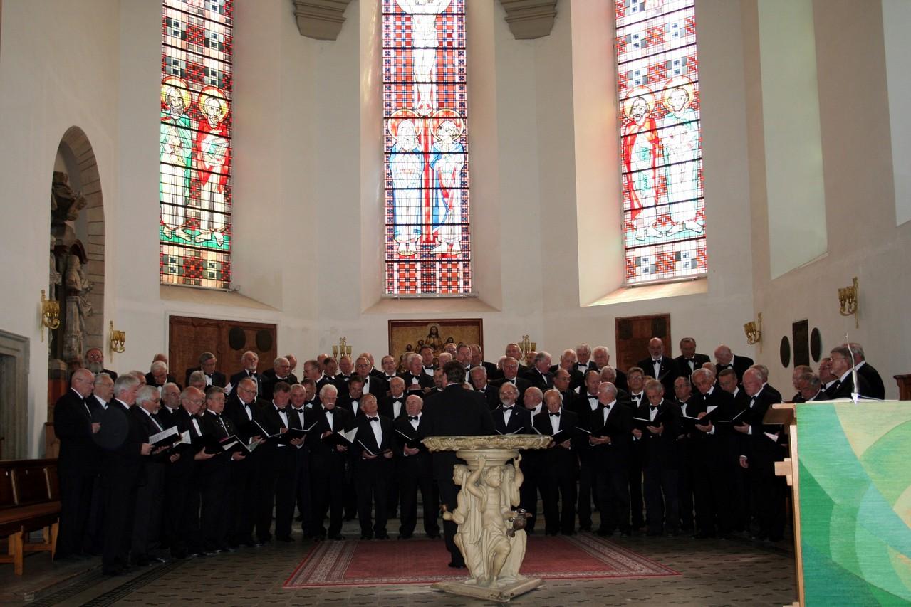 MPC Chorreise Thüringen -  Gottesdienst und Matinee Margarethenkirche zu Gotha 25.05.2008 -