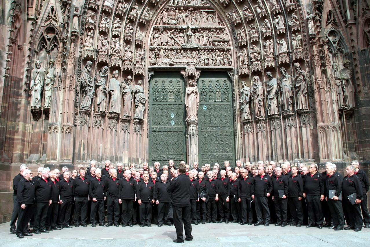 MPC-Chorreise  Münster in Straßburg 08.05.2008