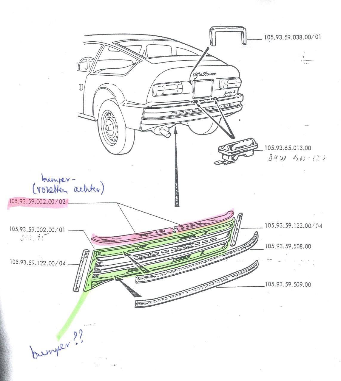 de JZ 1300 achterbumper