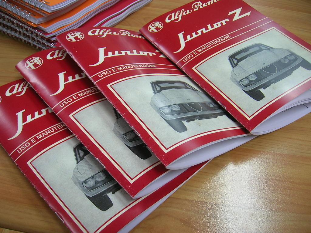 te koop: instructieboekje (Italiaans) Junior Z 1300, mooie duplicaat voor de prijs van een kopie !