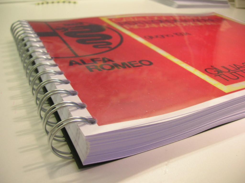 te koop : duplicaat algemene catalogus onderdelen 105 serie Giulia