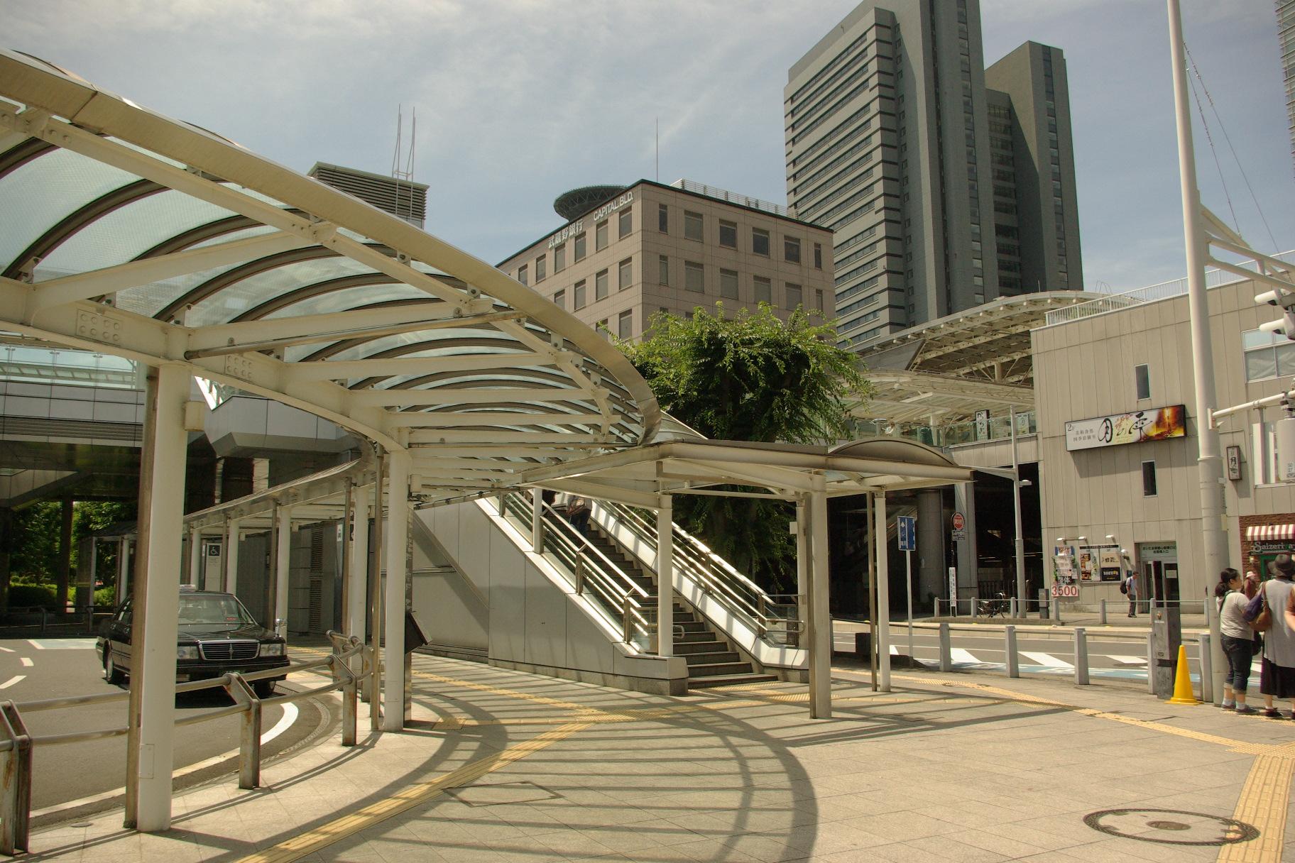 JR京浜東北線『さいたま新都心』駅2km