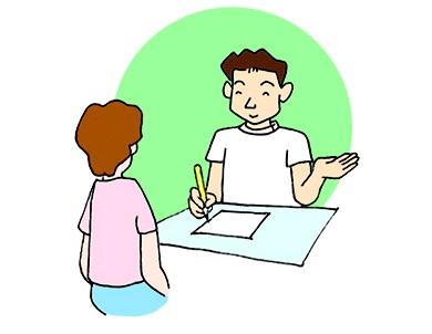 (2)症状や患者様のご意向をじっくり伺います
