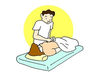 (3)脈診等で状態を把握します