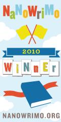 NaNoWriMo Siegerplakette 2010
