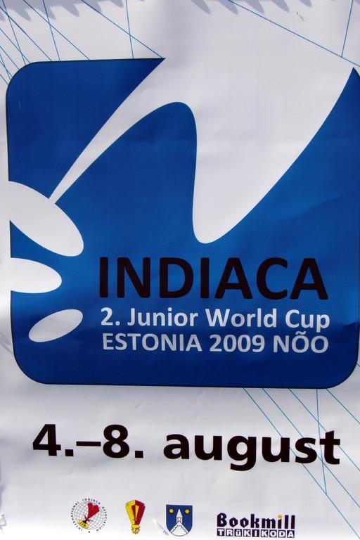 Logo Indiaca Worldcup Estland