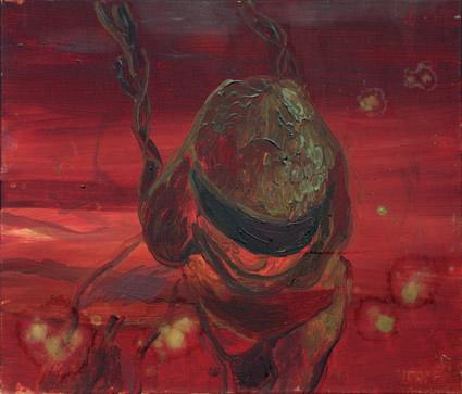Honki, 2005, Öl auf Leinwand, 60 x 70 cm