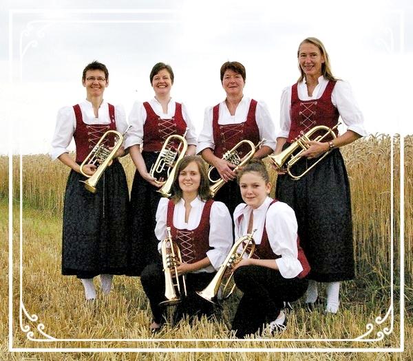Flügelhorn und Trompeten