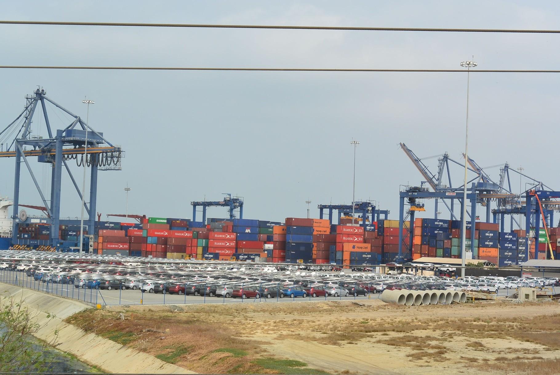 Le port de Cartagena