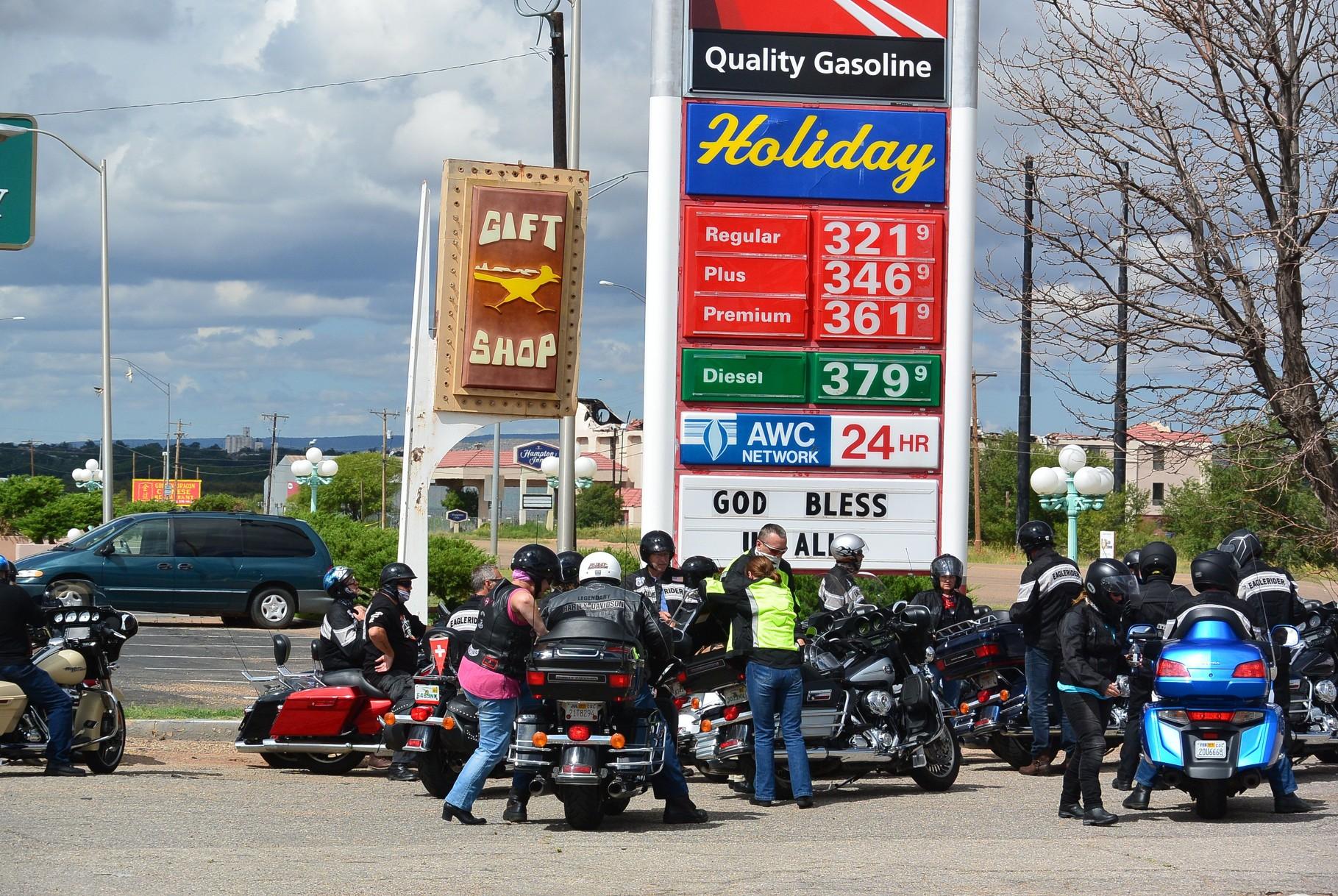 La route 66 en Harley.....