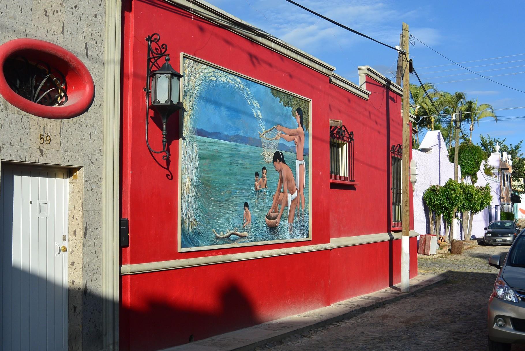 peinture sur façade