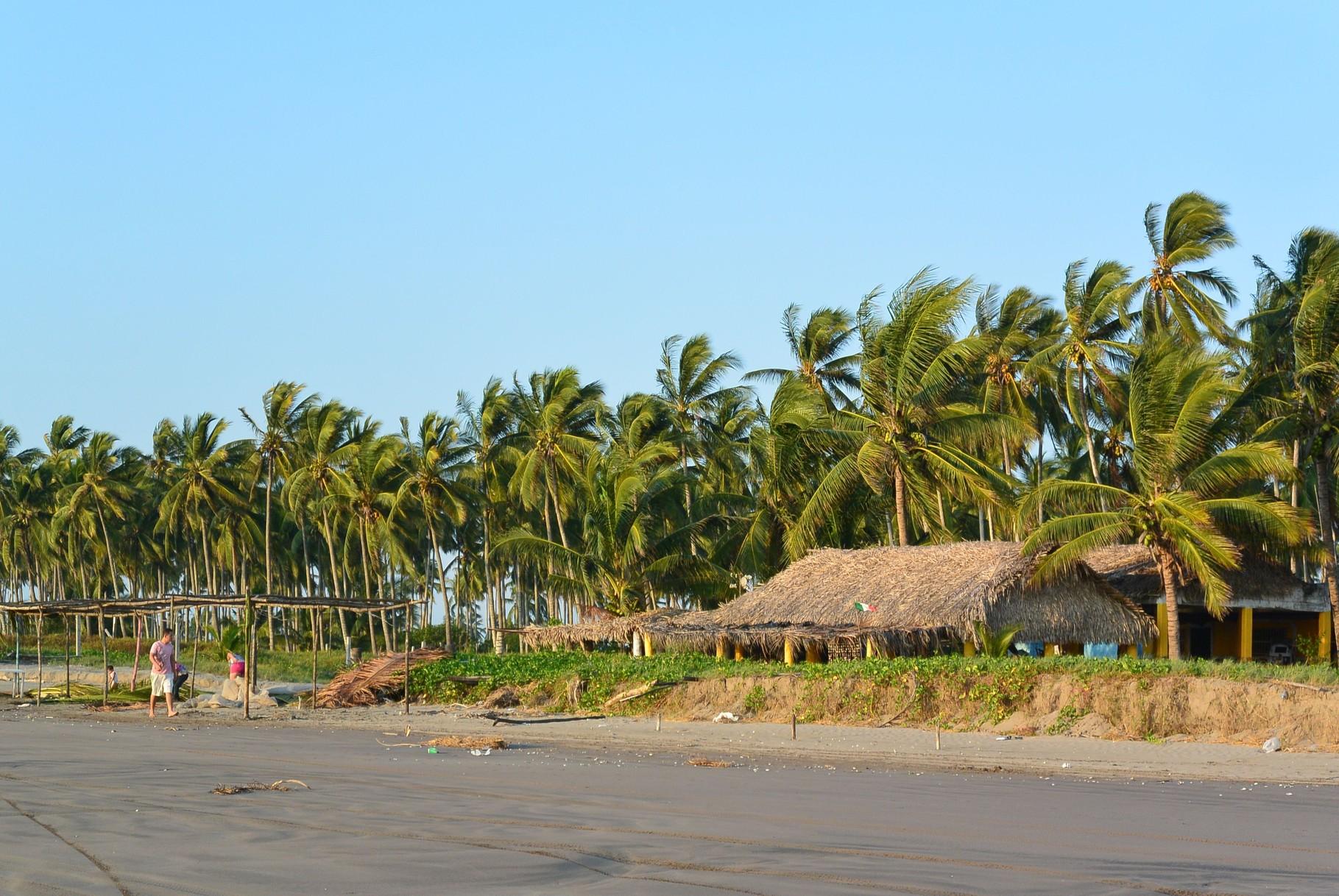 superbe plage, on reste pour la nuit....