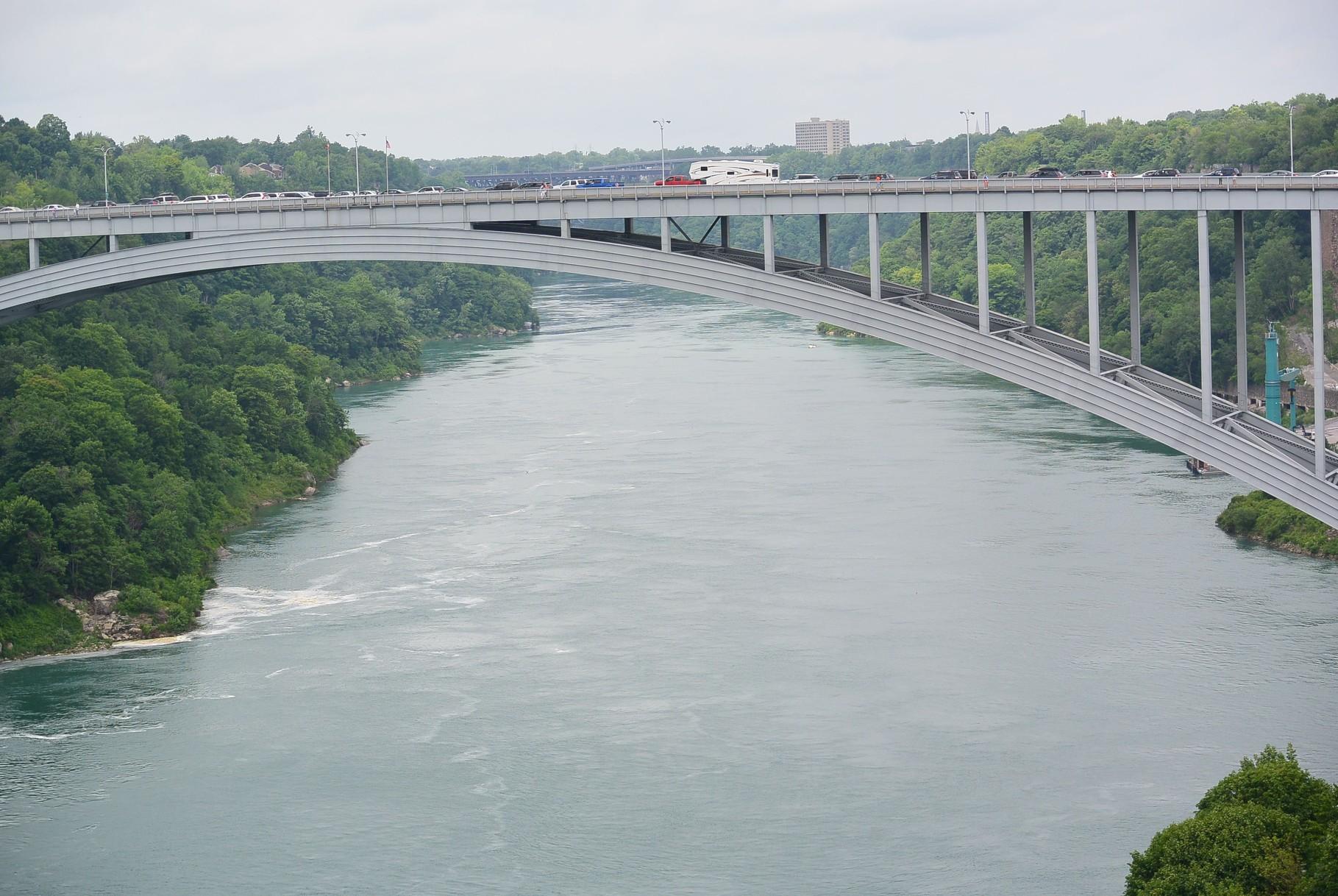pont des douanes USA - Canada
